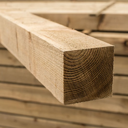Siberian Larch Sawn Timber 100 mm Thick
